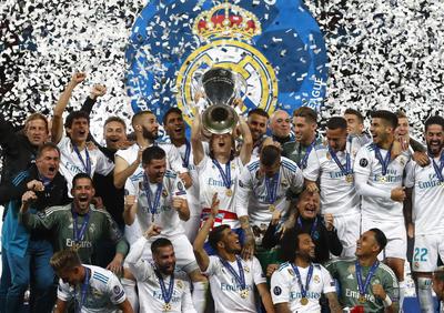 Real Madrid se volvió a coronar como campeón de Europa.