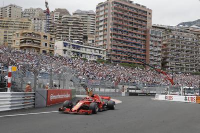 Espectaculares postales dejo el Gran Premio de Mónaco.