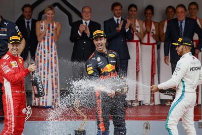Daniel Ricciardo se coronó en el Gran Premio de Mónaco, sexta carrera de la Fórmula 1 de su carrera.