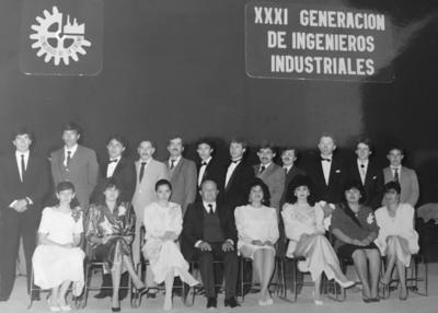 27052018 XXXI Generación de Ingenieros Industriales de Producción del ITL, quienes están celebrando sus 30 años de haber egresado, los acompañan los Ingenieros José Luis Villarreal y Mario Alberto Briseño y su padrino de generación.
