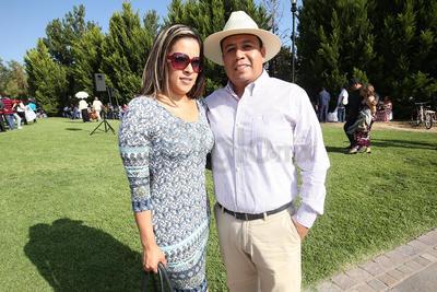 Jorge Zaid López y Pamela Torrecilla.