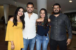 28052018 Jessica, Gerardo, Laura y Esteban.