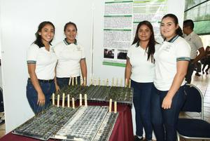 26052018 Jaquelin Estrada, Korely Valero, Kenia Ortiz y Hanna Cortinas.