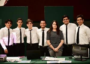 27052018 Sebastián, Alejandro, Santiago, Francisco, Pamela, Marco y Daniel.