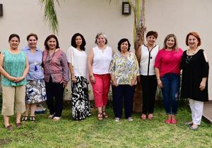 27052018 REUNIóN MENSUAL.  Integrantes del Club Jardinería Jazmín.