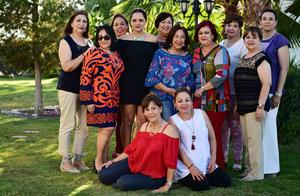 27052018 CAMBIO DE MESA DIRECTIVA.  Integrantes de la Asociación de Clubes de Jardinería de la Comarca Lagunera.