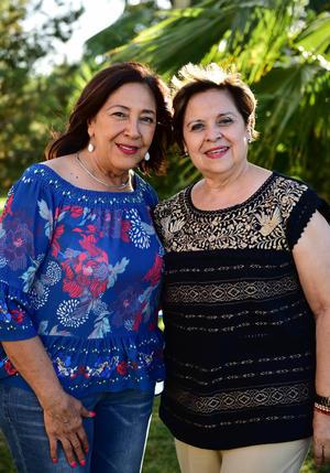 27052018 CONTENTAS.  Janina y Rosaura.