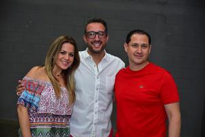 Deli  Rodrigo y Ernesto