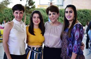 Lucero  Irene  Ana Rosa e Ivanna