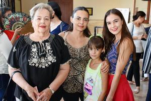 29052018 May, Luz María, María Sofía y Ana Cristina.