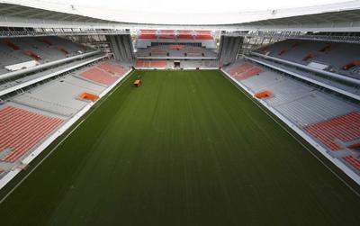 Ekaterinburg Arena. 35,696 espectadores.