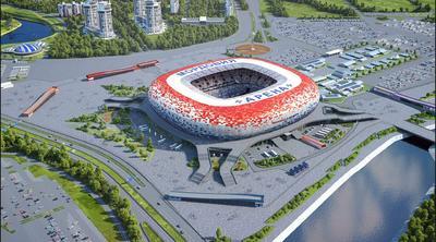 Mordovia Arena. 44,149 espectadores.