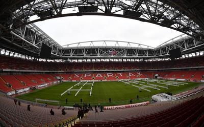 Spartak Stadium. 45,000 espectadores.