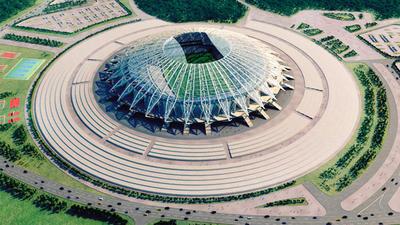Samara Arena. 45,482 espectadores.