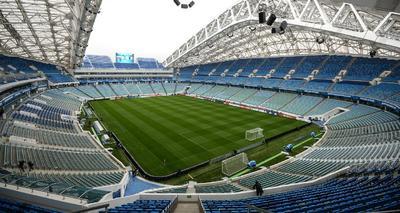 Fisht Stadium. 48,000 espectadores.