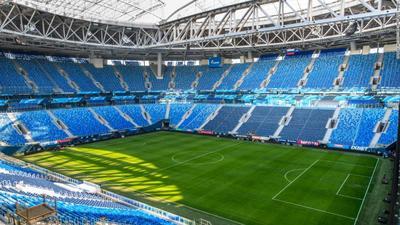 St. Petersburg Stadium. 67,000 espectadores.