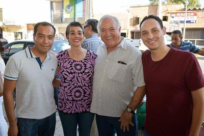 31052018 Hugo, Tania, Antonio y Christian.
