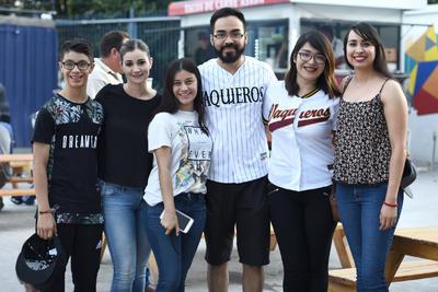 31052018 Diego, Ana, Ana Fer, Tomás, Briseida y Edith.