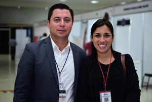 31052018 Pablo Díaz y Dalia Castillo.
