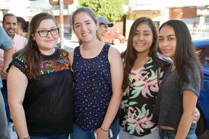 01062018 Ángela, Bety, Diana y Carolina.