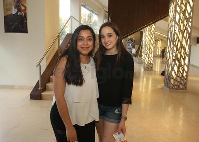 Romina y Fernanda.