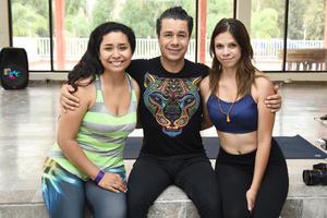 02062018 Silka Guerrero, Alex Quiyono y Denisse Villalobos.