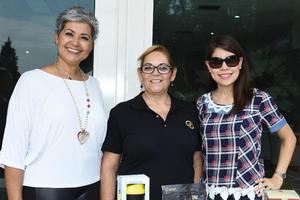 02062018 Norma Salcedo, Marcela Valdés y Liz Rocha.