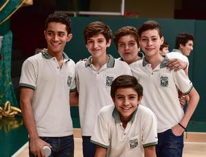 02062018 Andrés, Picasso, Rocco, Daniel y Rubén.