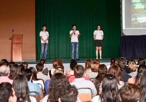 02062018 Los alumnos se prepararon al máximo para esta actividad.