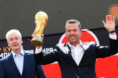 Autoridades rusas recibieron con entusiasmo la famosa Copa.