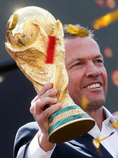 La Copa del Mundo aún ostenta a Alemania como Campeón del Mundo