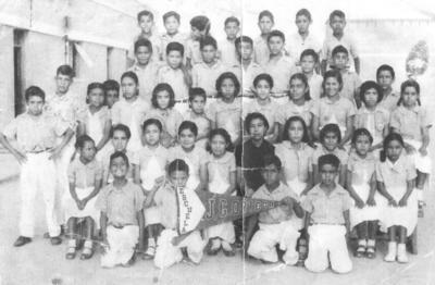 03062018 Escuela J. González Ortega en la década de los 80, grupo de la Profra. Ana María Salazar Aguilar (f).