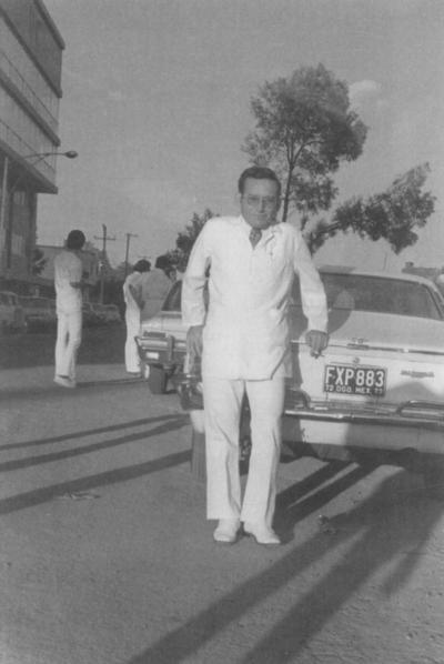03062018 Leonel Rodríguez R. en la ceremonia de graduación el 22 de junio de 1973.