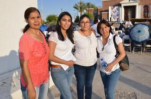 04062018 Mela, Violeta, Pily y Paulina.