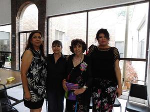 04062018 Blanca Domínguez R., Sulema Reyes Valero, Ma. Antonia Chávez Sosa y Estela Núñez Piña.