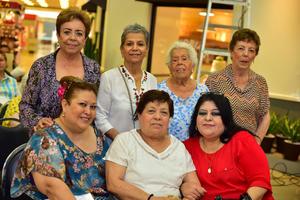 04062018 ENTRE AMIGAS.  Lety, Cecy, Lupita, Armida, Coquis, Angie y Lupita.