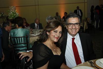Laura Elena Campos y Jorge Vázquez.