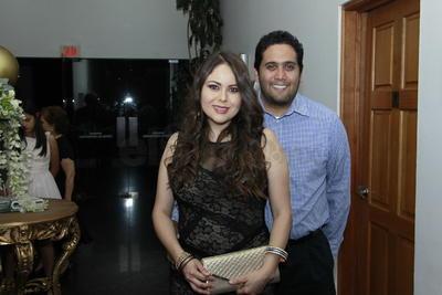 Irene Rodríguez y Mauricio del Palacio.