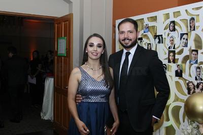 Zaida Quiñones y Fernando García.