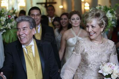 Enrique Benítez Vargas e Irene Ojeda celebran bodas de oro