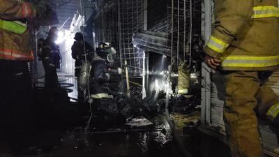 Protección Civil confirmó que no hubo personas lesionadas en el incendio.