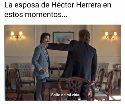 Algunos aprovecharon incluso escenas de la serie del momento, Luis Miguel, para retratar la situación de la fiesta.
