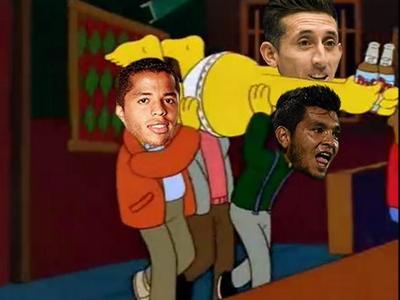 La Selección Nacional tuvo una fiesta de despedida.