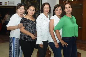 07062018 Selene, Lily, Lucero, Claudia e Isabel.