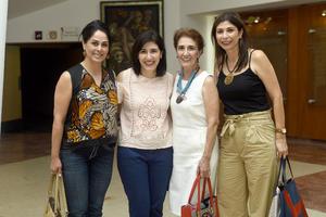 07062018 Beatriz, Liliana, Emma y Olivia.