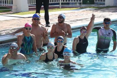 Club Campestre realiza biatlón
