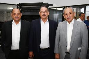 08062018 Jesús Fernando del Rivero, Luis Felipe del Rivero y José Guadalupe del Rivero.
