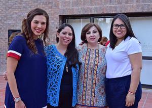 08062018 Lorena, Ángela, Tere y Valeria.