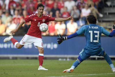 La cita en Copenhague terminó con un marcador 2-0 para los de Osorio.