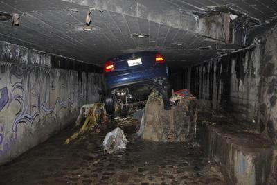 En el   túnel vehicular de la avenida Washington y 8 de Julio  también se reportaron inundaciones.